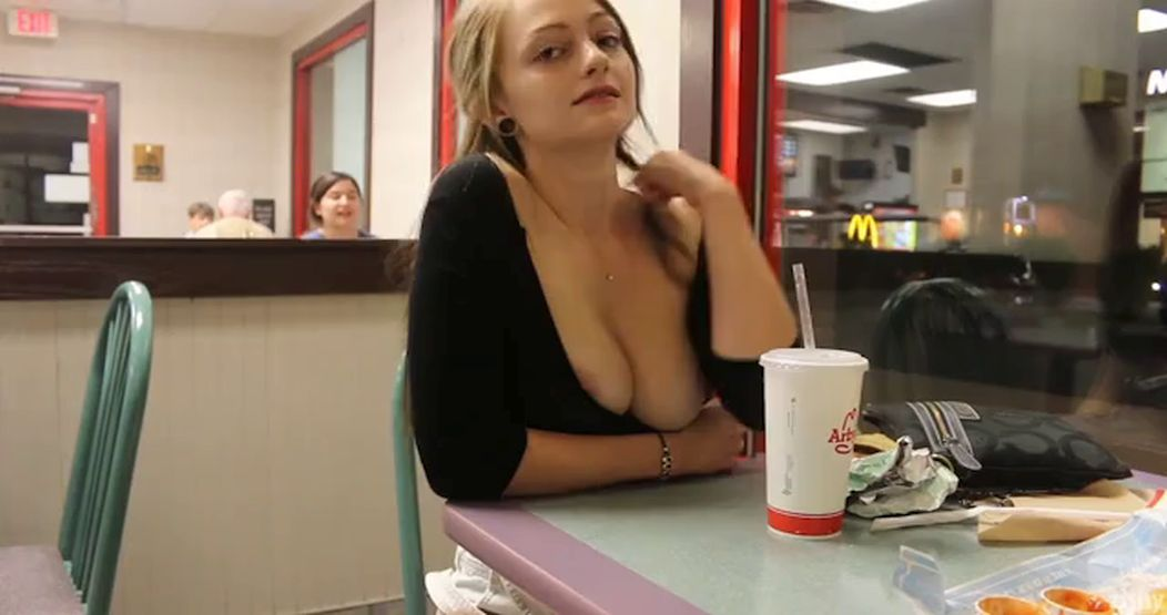 You Can See Tits At Arby's