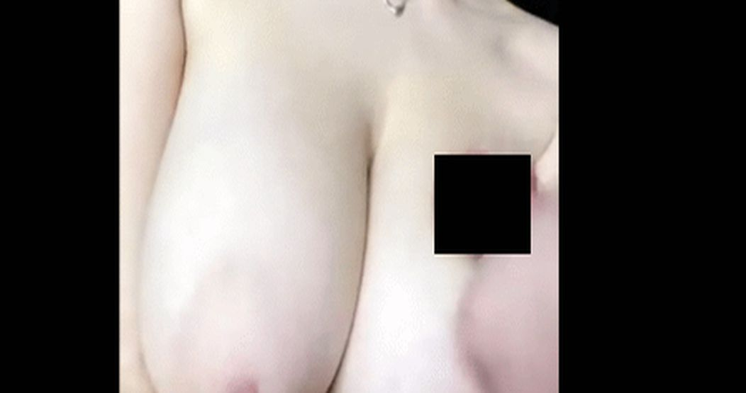 Covered Her Tits